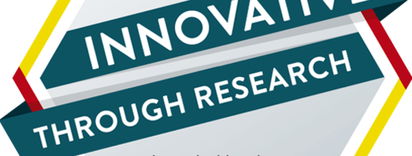 awarded as INNOVATIVE-through-research logo 2018/2019
